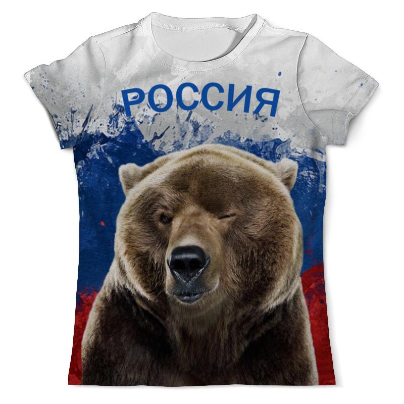 Футболка с полной запечаткой (мужская) Printio Россия футболка с полной запечаткой мужская printio alestorm