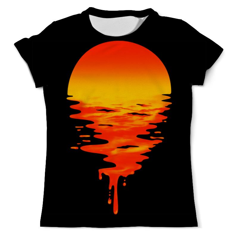 Футболка с полной запечаткой (мужская) Printio On the sunset футболка с полной запечаткой мужская printio dota 2 lina on fire