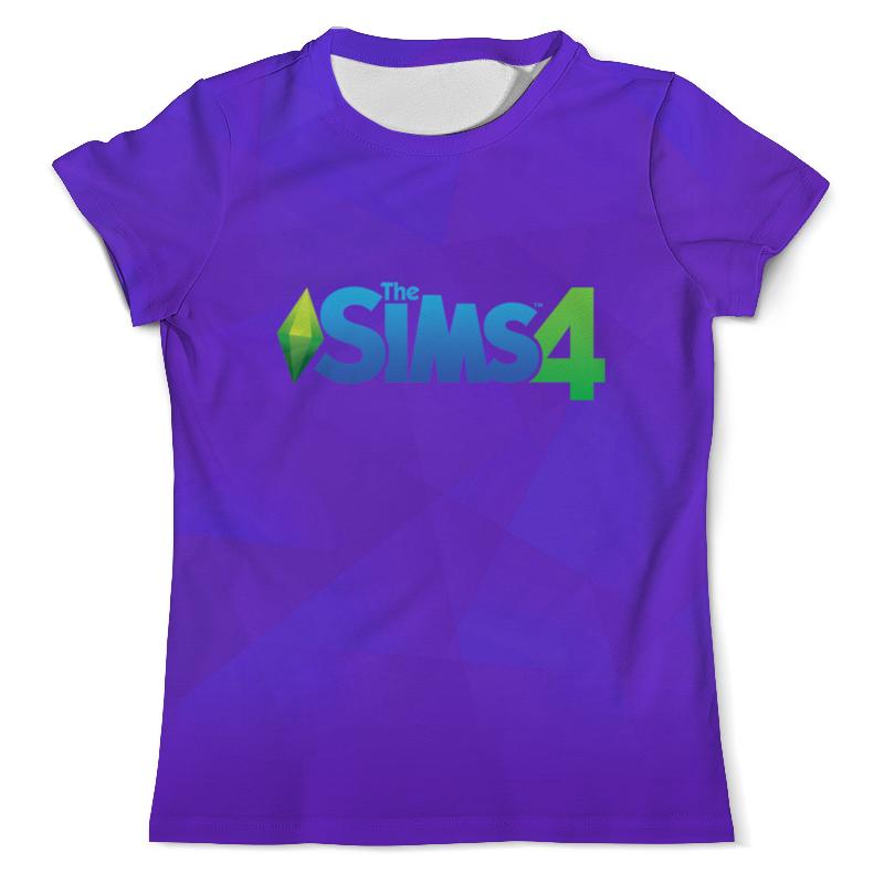 Printio The sims 4 веселимся вместе мужская футболка other 6 4 q01