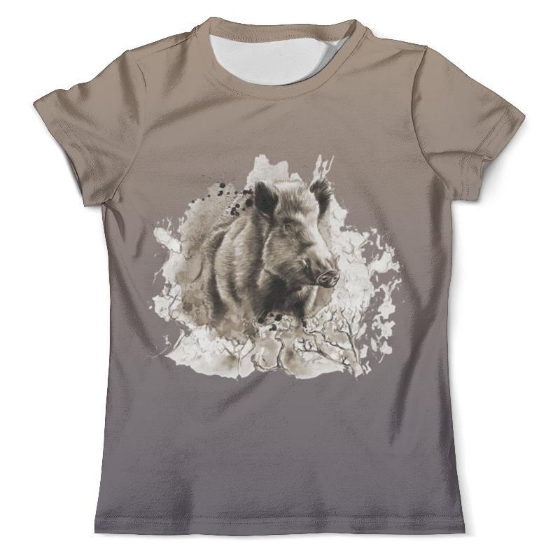 Printio Кабанчик футболка с полной запечаткой мужская printio лев кабанчик и чужой