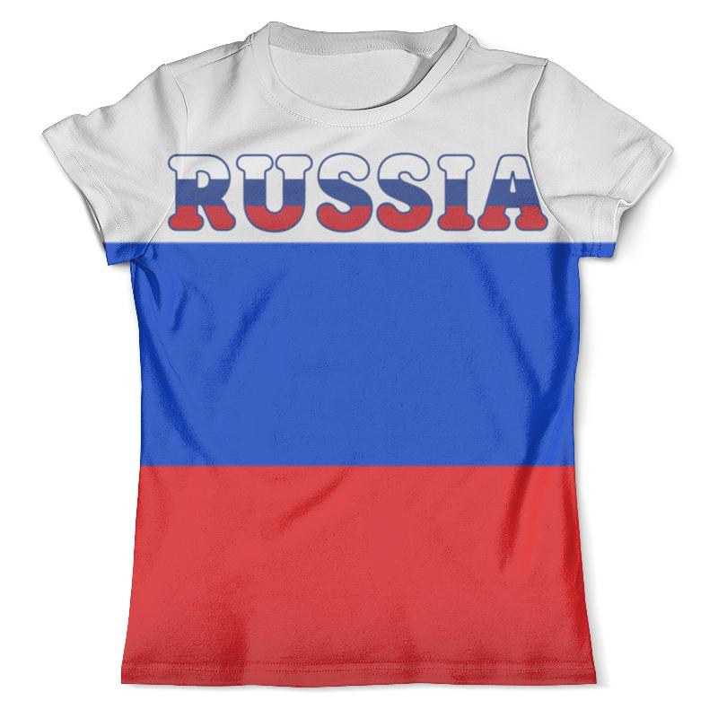 Футболка с полной запечаткой (мужская) Printio Я люблю россию футболка с полной запечаткой мужская printio я тебя люблю арт