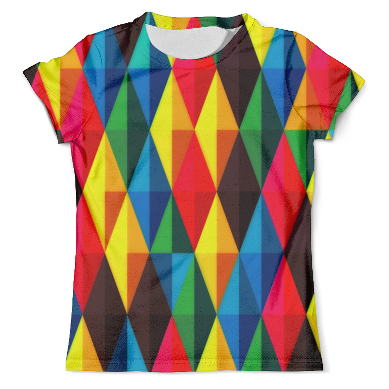 Фото - Футболка с полной запечаткой (мужская) Printio Colors футболка с полной запечаткой мужская printio colors