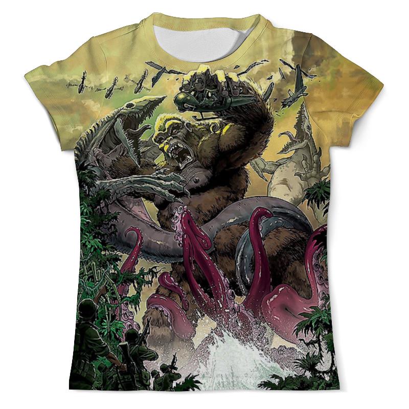 Футболка с полной запечаткой (мужская) Printio Kong: skull island футболка с полной запечаткой мужская printio skull triangle
