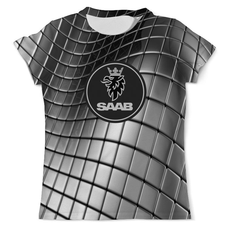 Фото - Футболка с полной запечаткой (мужская) Printio Saab авто авто