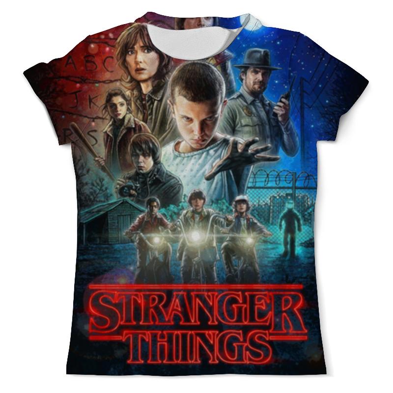 Printio Очень странные дела футболка с полной запечаткой мужская printio очень странные дела stranger things