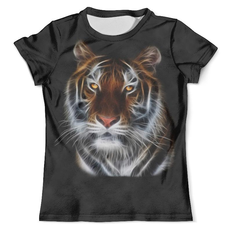 Printio Взгляд тигра футболка с полной запечаткой мужская printio взгляд черной кошки