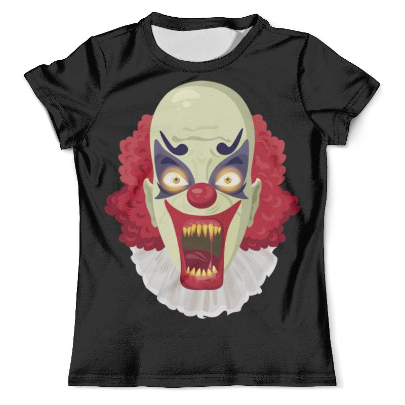 Футболка с полной запечаткой (мужская) Printio Злой клоун футболка с полной запечаткой мужская printio смешной клоун