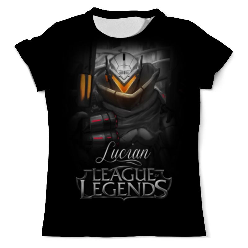 Футболка с полной запечаткой (мужская) Printio League of legends. люциан футболка с полной запечаткой мужская printio league of legends удир