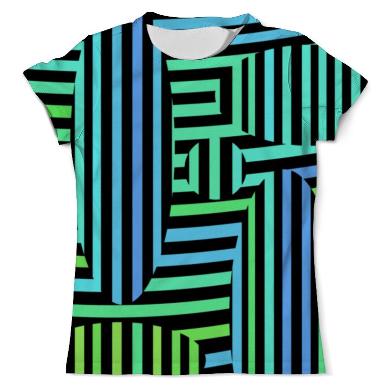 Футболка с полной запечаткой (мужская) Printio Оптическая иллюзия