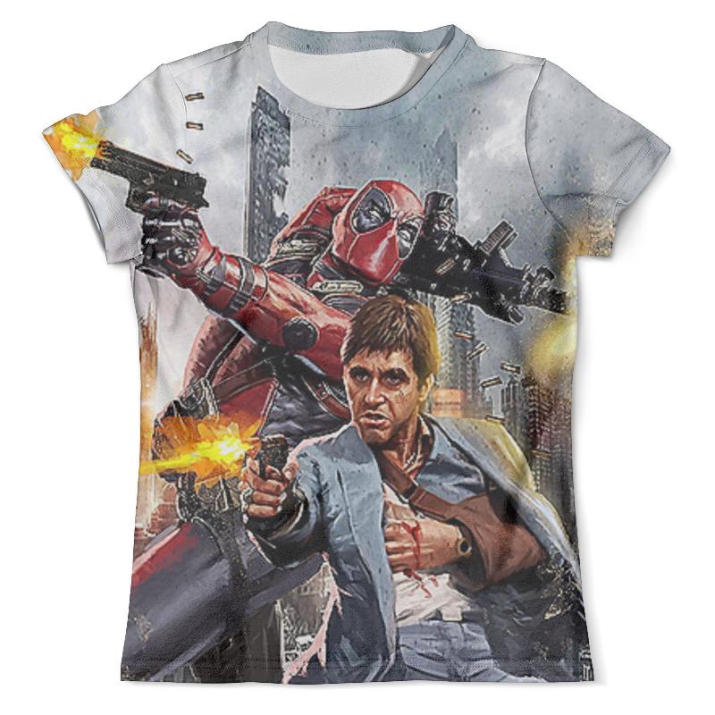 Футболка с полной запечаткой (мужская) Printio Scarface & deadpool футболка с полной запечаткой мужская printio tony montana scarface 1