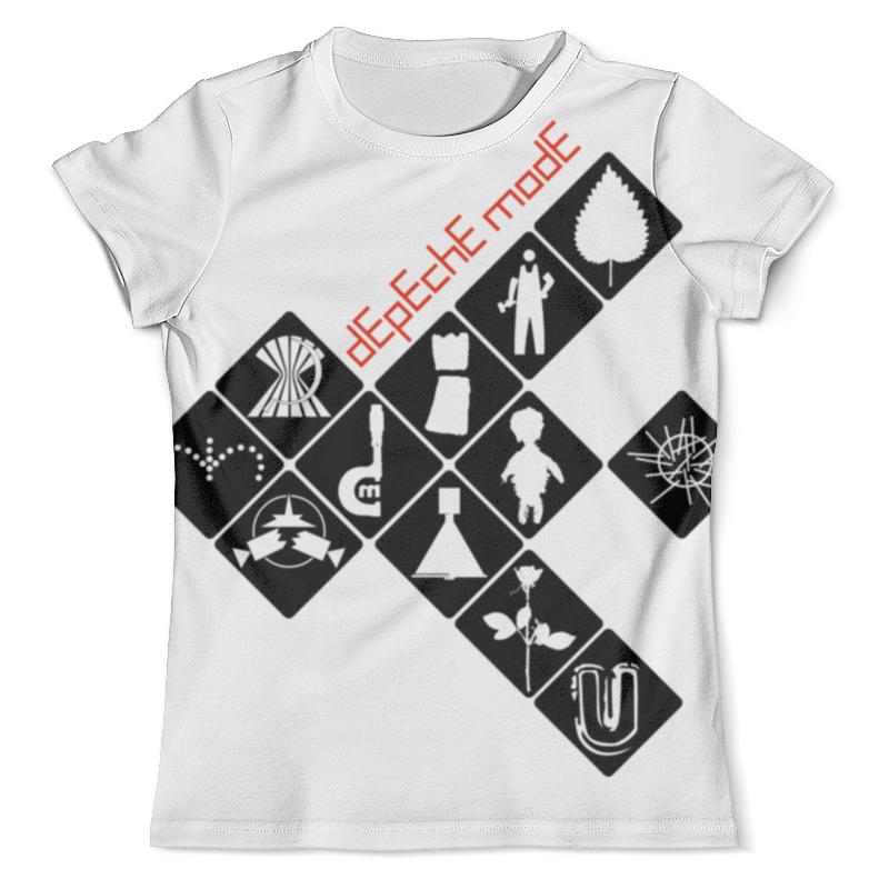Футболка с полной запечаткой (мужская) Printio Depeche mode / symbols футболка print bar sea symbols