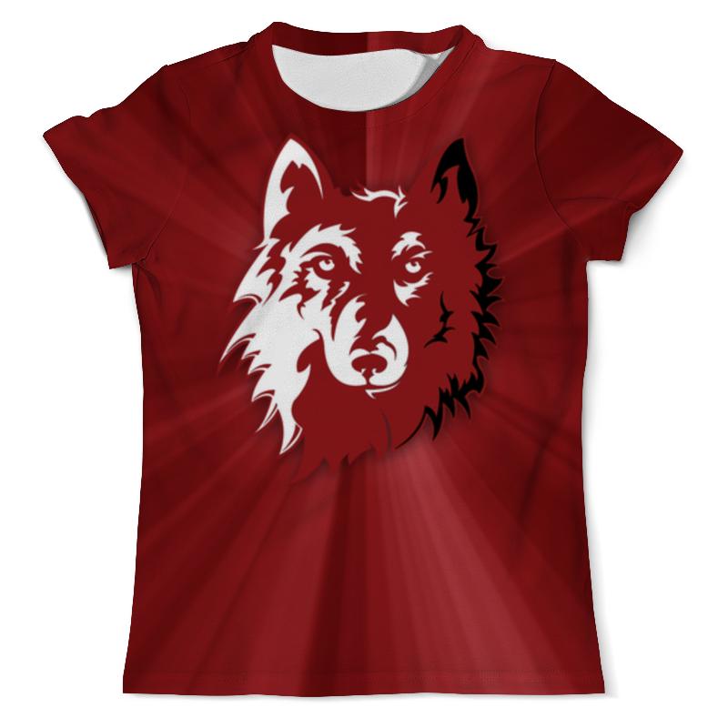 Футболка с полной запечаткой (мужская) Printio Волк арт (1) футболка с полной запечаткой мужская printio морской волк