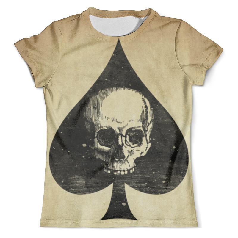 Футболка с полной запечаткой (мужская) Printio Skull - 37 футболка с полной запечаткой мужская printio skull triangle
