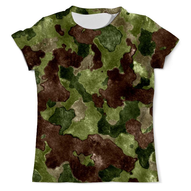 Printio Камуфляж футболка с полной запечаткой мужская printio яркий камуфляж