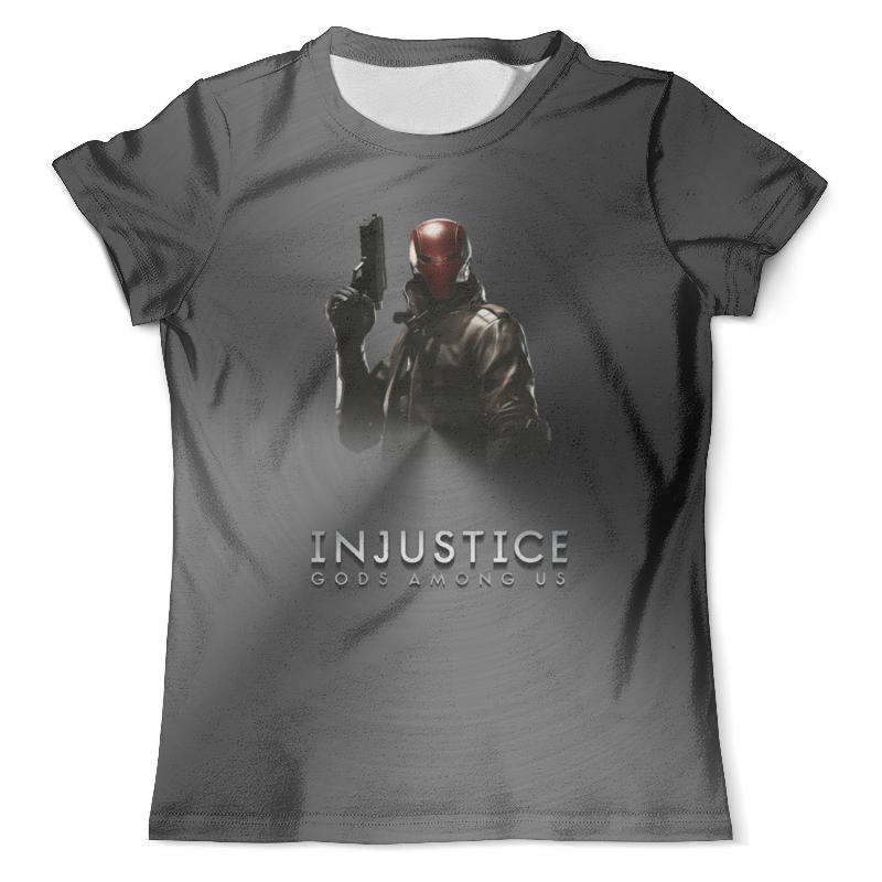 Футболка с полной запечаткой (мужская) Printio Injustice injustice in person