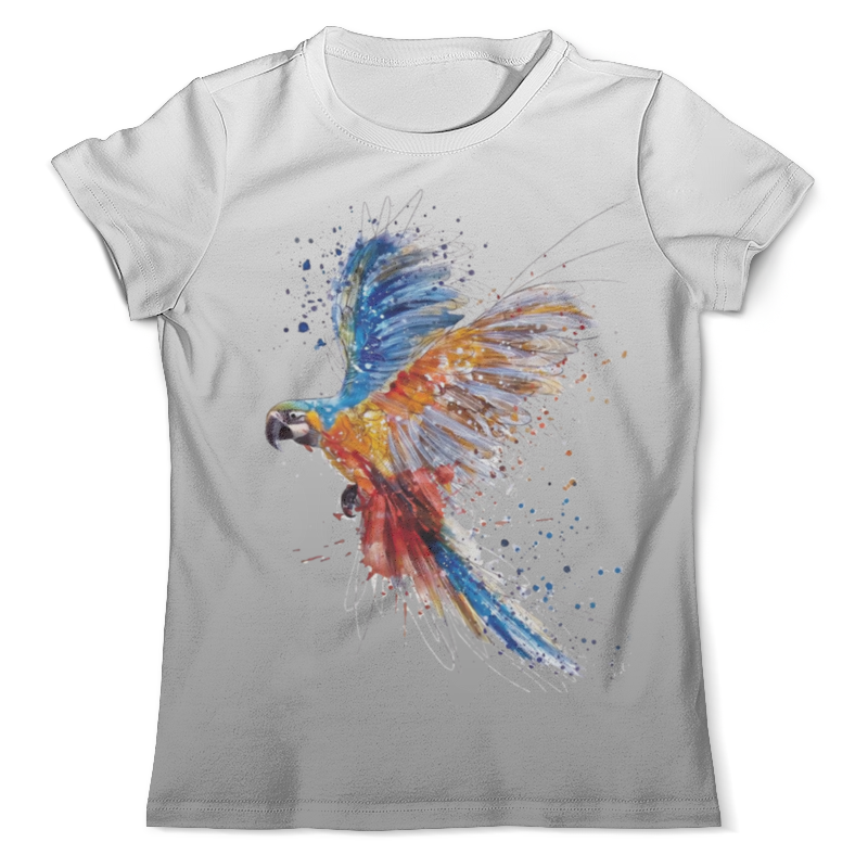 Футболка с полной запечаткой (мужская) Printio Попугай (1) брелоки aztek брелок попугай