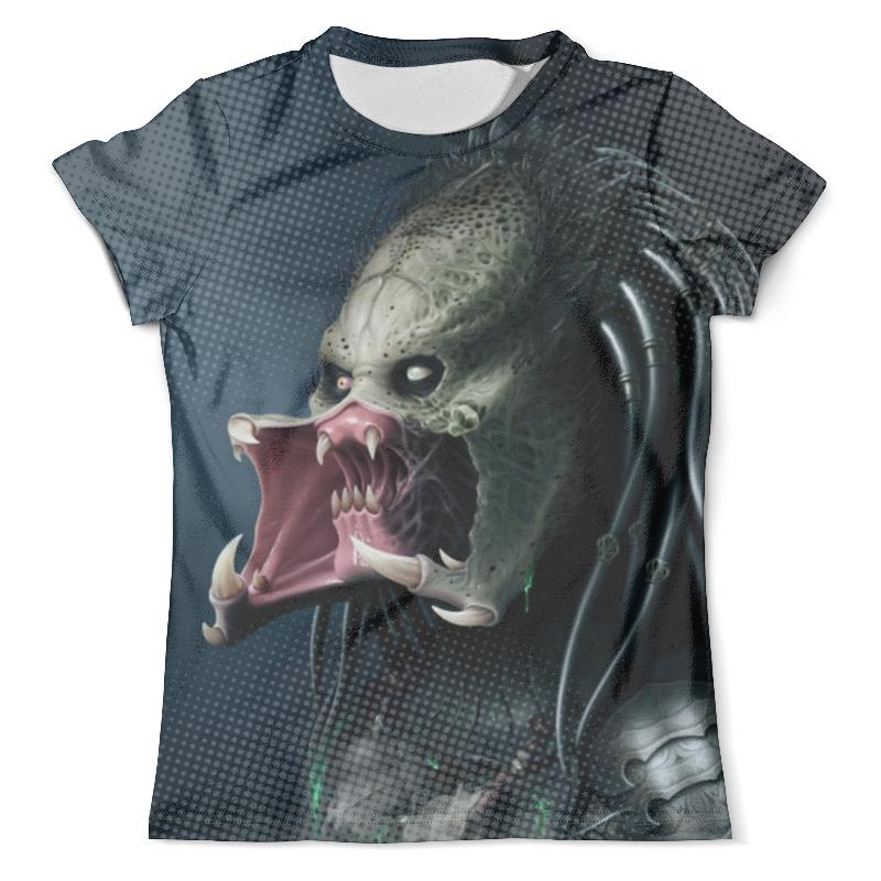 Футболка с полной запечаткой (мужская) Printio Predator design (new)