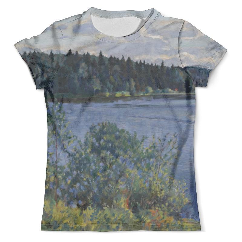 Футболка с полной запечаткой (мужская) Printio Озеро (сергей виноградов) футболка с полной запечаткой женская printio подземное озеро