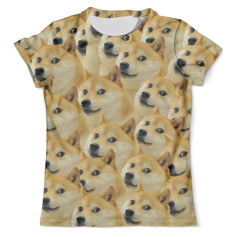 Футболка с полной запечаткой (мужская) Printio Doge футболка с полной запечаткой мужская printio doge