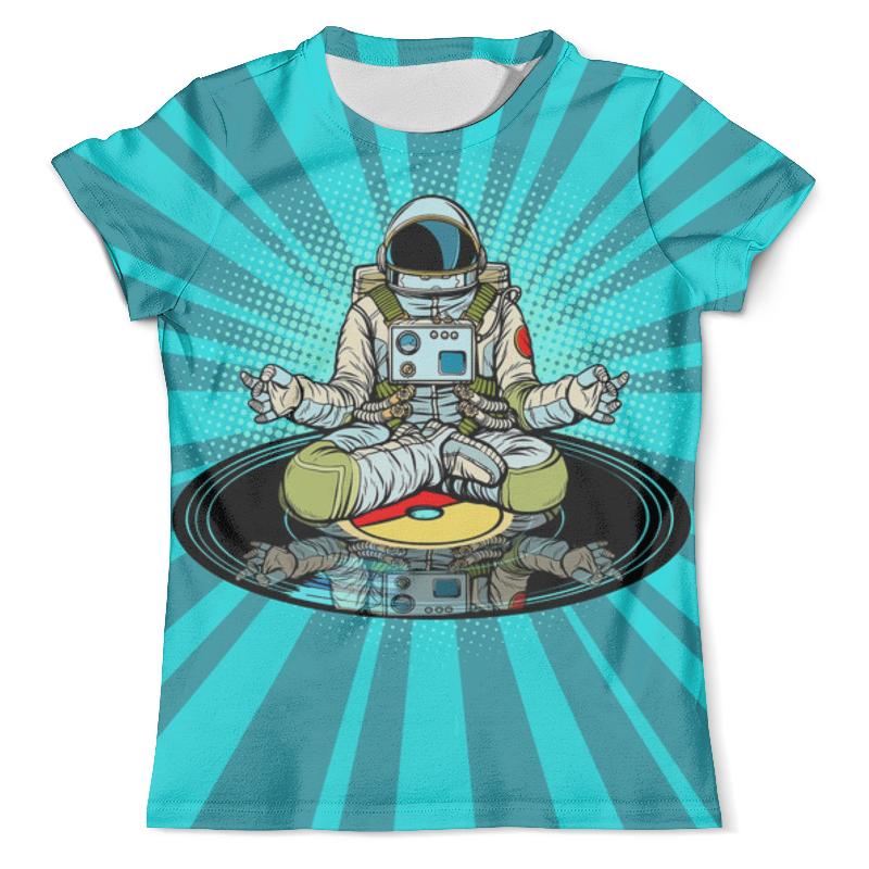 Printio Космический диск футболка с полной запечаткой мужская printio космический экстрим
