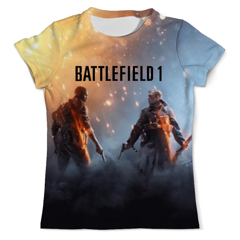 Футболка с полной запечаткой (мужская) Printio Battlefield 1 футболка с полной запечаткой для мальчиков printio battlefield