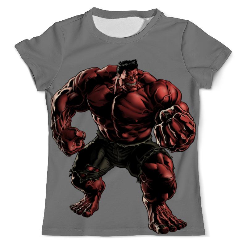 Printio Красный халк футболка с полной запечаткой мужская printio чёрная вдова и халк