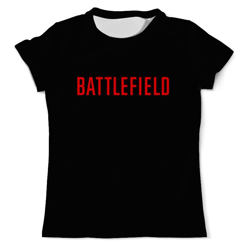 Футболка с полной запечаткой (мужская) Printio Battlefield футболка с полной запечаткой для мальчиков printio battlefield
