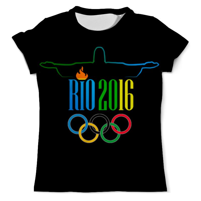 Футболка с полной запечаткой (мужская) Printio Рио 2016 футболка с полной запечаткой мужская printio dtm 2016 mattias ekstrom