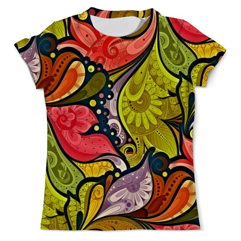Фото - Футболка с полной запечаткой (мужская) Printio Цветочная роспись футболка с полной запечаткой мужская printio роспись на черепе