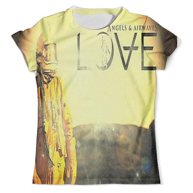 Футболка с полной запечаткой (мужская) Printio Astronaut angels and airwaves футболка с полной запечаткой для девочек printio astronaut angels and airwaves