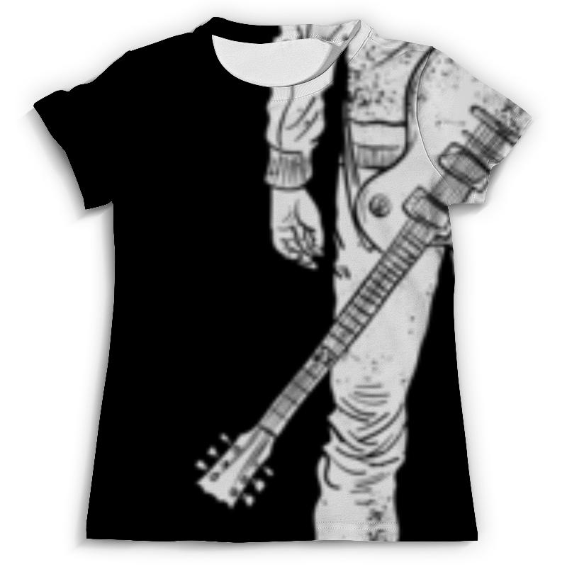 Футболка с полной запечаткой (мужская) Printio Гитарист футболка с полной запечаткой для мальчиков printio гитарист