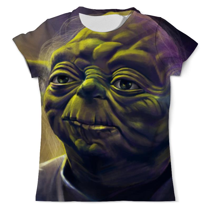 Футболка с полной запечаткой (мужская) Printio Йода (звездные войны) футболка с полной запечаткой мужская printio магистр йода