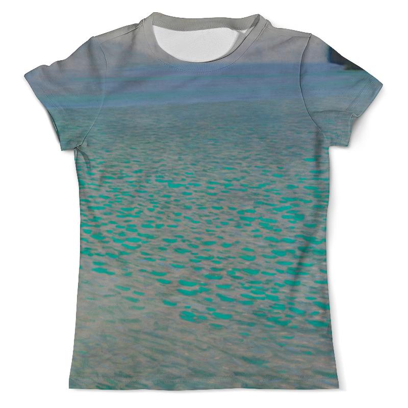Футболка с полной запечаткой (мужская) Printio Озеро аттерзее (густав климт) футболка с полной запечаткой женская printio подземное озеро