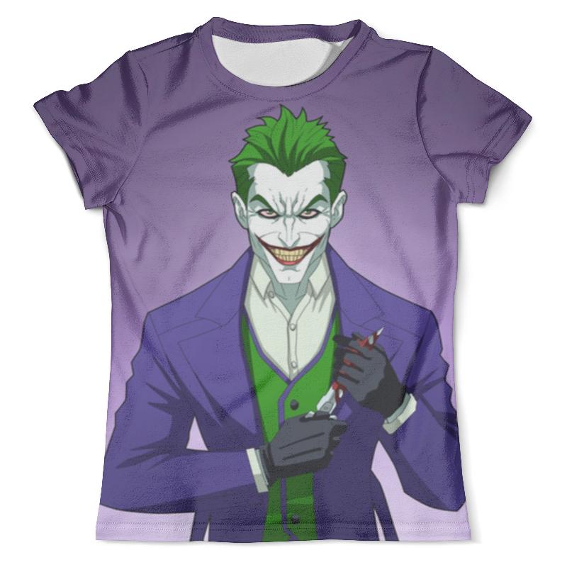 Футболка с полной запечаткой (мужская) Printio Joker (двухсторонняя) футболка с полной запечаткой для девочек printio joker двухсторонняя