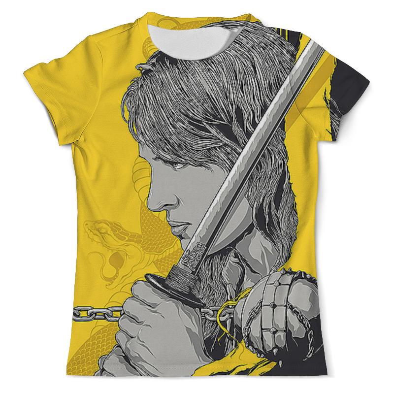 Printio Kill bill футболка с полной запечаткой женская printio kill bill yubari