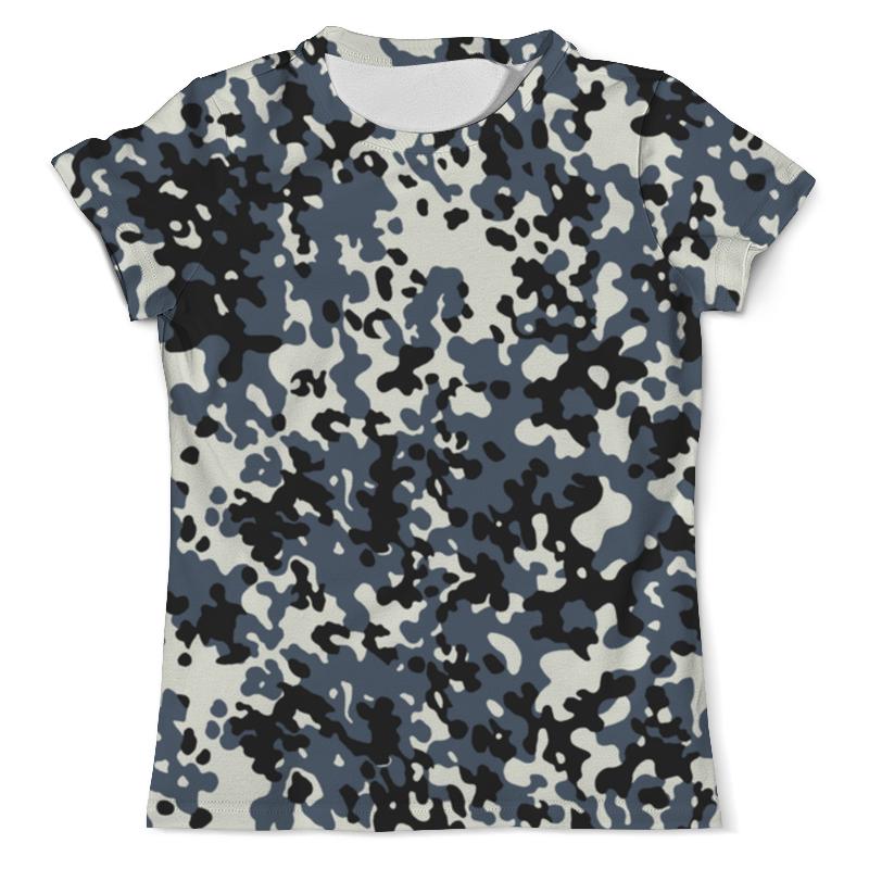 Printio Камуфляж 1 футболка с полной запечаткой мужская printio westernskull 1