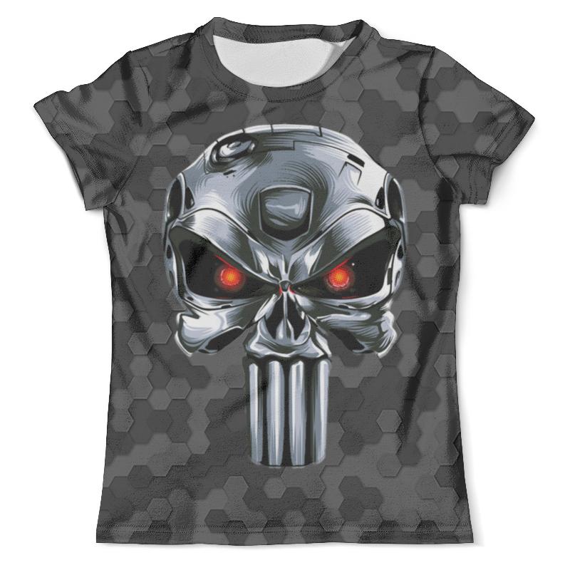 Футболка с полной запечаткой (мужская) Printio Terminator design (the punisher) футболка с полной запечаткой printio punisher of the future terminator