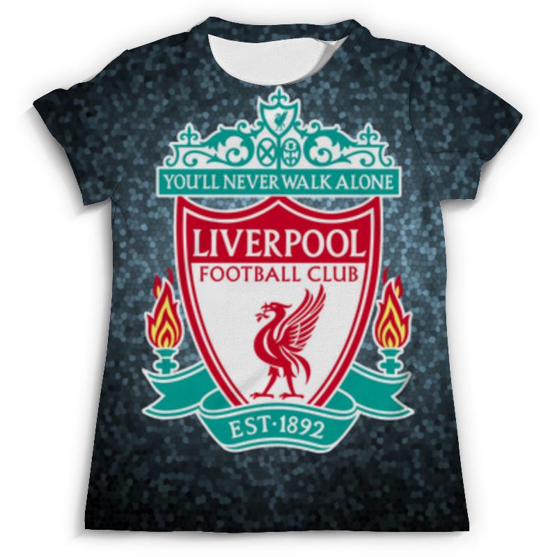 Футболка с полной запечаткой (мужская) Printio Liverpool (ливерпуль) футболка с полной запечаткой printio фан клуб вовочки