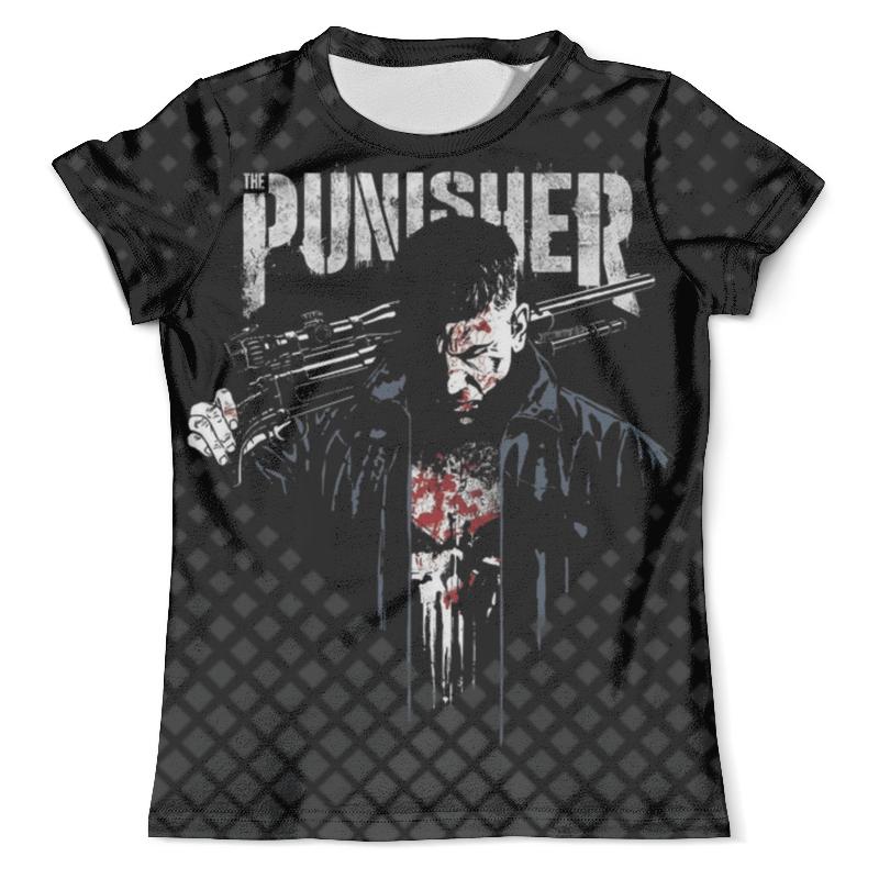 Футболка с полной запечаткой (мужская) Printio The punisher design футболка с полной запечаткой printio punisher of the future terminator