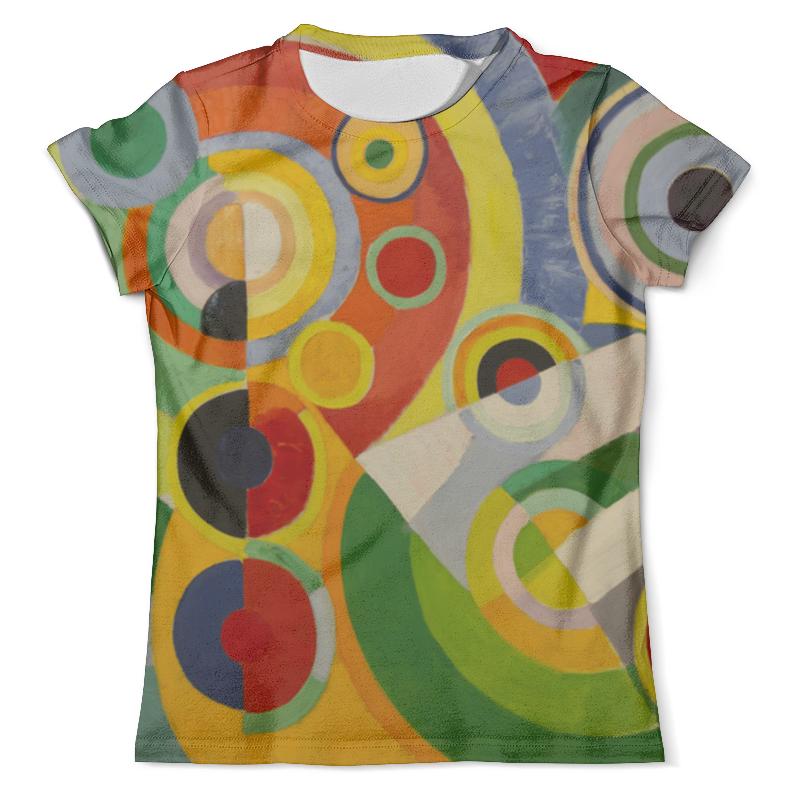 Футболка с полной запечаткой (мужская) Printio Ритм, радость жизни (картина делоне) футболка с полной запечаткой мужская printio картина