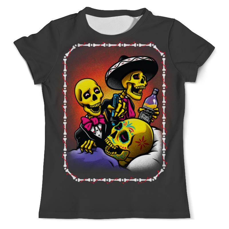 Printio Mexican skull art