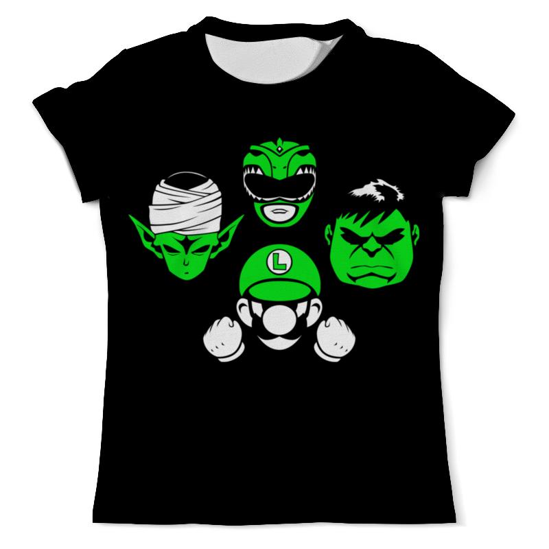 Printio Марио , могучие рейнджеры и халк футболка с полной запечаткой мужская printio чёрная вдова и халк