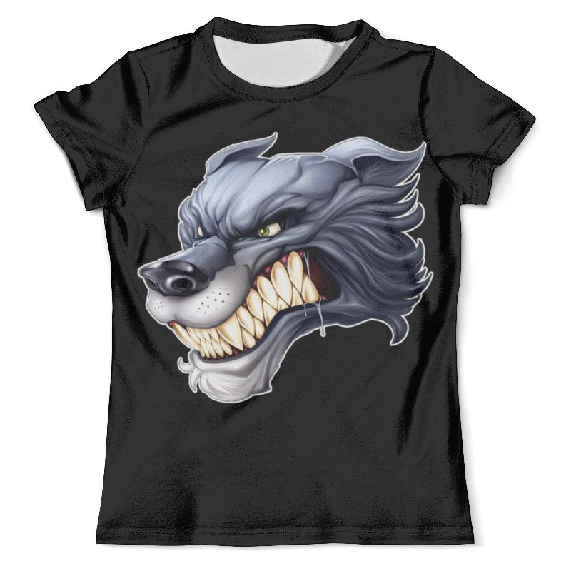 Футболка с полной запечаткой (мужская) Printio Волк (1) футболка с полной запечаткой мужская printio волк