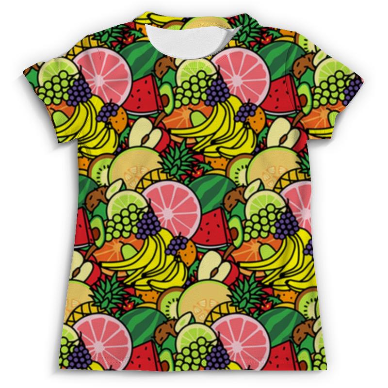 Футболка с полной запечаткой (мужская) Printio Фруктовая футболка с полной запечаткой мужская printio сара керриган старкрафт