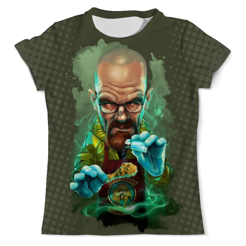 Фото - Футболка с полной запечаткой (мужская) Printio Heisenberg design (breaking bad) футболка с полной запечаткой мужская printio heisenberg low poly