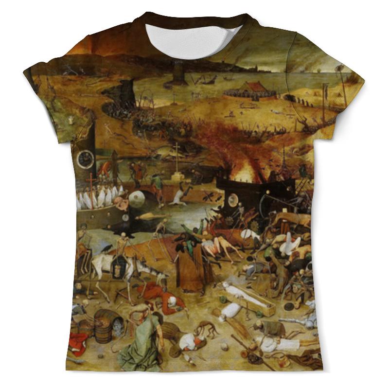 Футболка с полной запечаткой (мужская) Printio Триумф смерти (питер брейгель старший) футболка с полной запечаткой мужская printio солдаты смерти