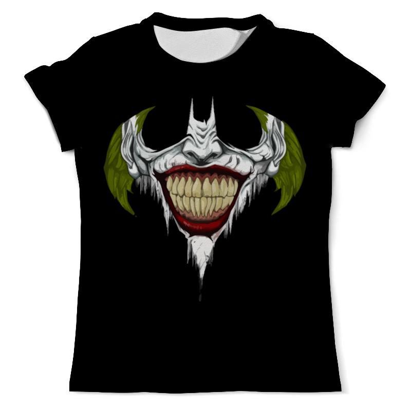 Футболка с полной запечаткой (мужская) Printio Batman x joker футболка с полной запечаткой мужская printio batman x joker бэтмен