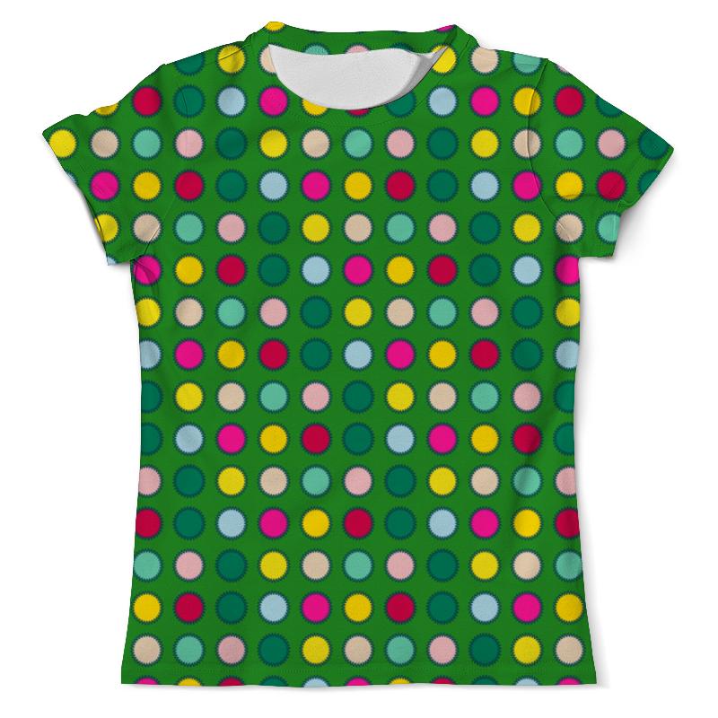 Printio Зеленый в горох футболка с полной запечаткой мужская printio горох и линия