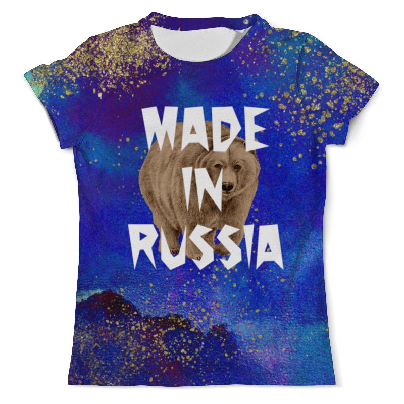Футболка с полной запечаткой (мужская) Printio Russia футболка с полной запечаткой мужская printio football russia