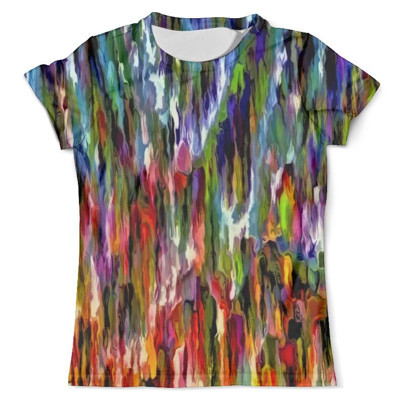 Футболка с полной запечаткой (мужская) Printio Всплеск красок футболка с полной запечаткой для девочек printio всплеск красок